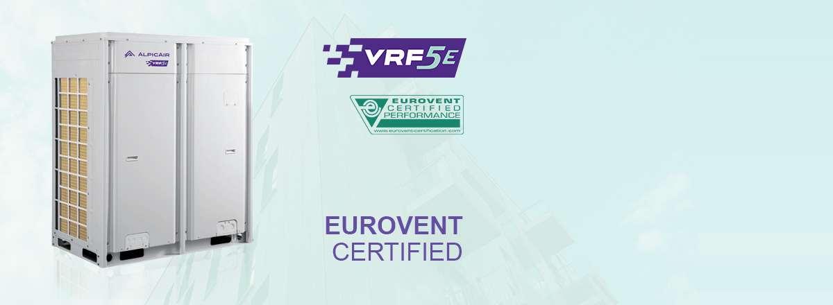 Eurovent certified VRF systems